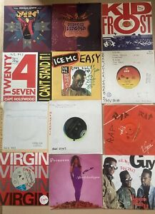 "25 X Early Rap, R'n'b, House 7"" Records, Ex Radio Station."