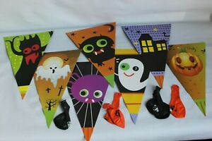 Indoor Halloween hanging decorations for party, festival - Balloons included
