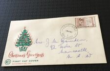 Australian 1961  Fdc Christmas Greetings