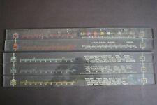 H.M.V. Glass Slats, Radio Tuning Scale.