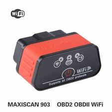 KW903 WiFi ODB2 OBDII Code Reader Diagnostic Scanner Tools for Iphone Android PC
