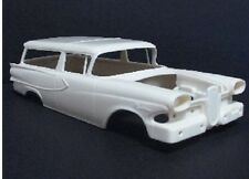 Jimmy Flintstone 1/25 1958 Edsel Roundup Wagon Body& Tail Lights& Rear JIMNB313