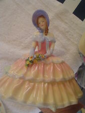 Royal Doulton Pretty Ladies - Figurine Day Dreams Hand Written Hn 1731 - Mint