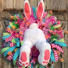 Easter Lovely Faceless Decoration Rabbit Wreath  Doll Easter Thief Cute Bunny