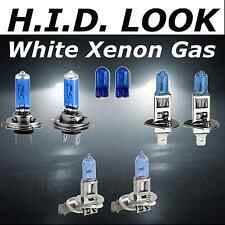H1 H7 H3 501 55w White Xenon HID Look High Low Fog Beam Headlight Bulb Pack