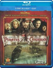 Pirates of the Caribbean: At Worlds End (Blu-ray Disc, 2007, 3-Disc Set)