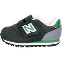 Scarpe Sneakers New Balance KV373DNI-OLIVE/GREEN Bambino