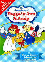 BRAND NEW DVD Raggedy Ann  Andy - The Ransom of Sunny Bunny Adventure