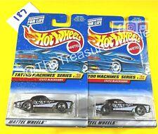 Hot Wheels - GOOD CAR BAD CARD Lot of 2 - Stutz Blackhawk w/ Wheel Error - X187