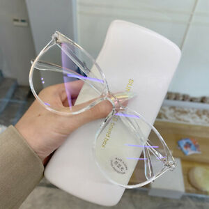 Myopia Transparent Computer glasses frame  Women Men