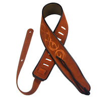 Adjustable Suede Leather Guitar Strap Belt for Acoustic Electric Guitar Bass