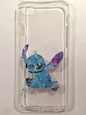 Disney Stitch Clear Silicone Gel Case For iPhone 7 PLUS