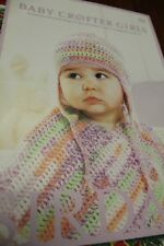 Sirdar Knitting Pattern Book 425 Baby Crofter for Girls 18 knit & crochet 0-7yrs