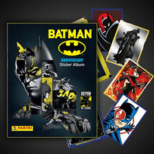 BATMAN ANNIVERSARY PANINI FREE ALBUM + BOX (50 STICKERS)