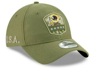 Washington Redskins Adult New Era 2019 Salute To Service 9Twenty Strapback Hat