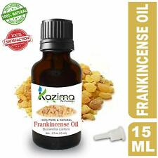 KAZIMA Frankincense Essential Oil - 100% Pure Natural & Undiluted For Skin care