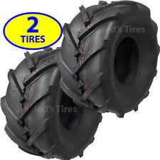 2) 20x10.00-8 Tires Zero Turn Riding Lawn Mower Golf Car Go Kart P328 R-1 Lug