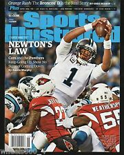Sports Illustrated 2016 Carolina Panthers Cam Newton Super Bowl 50 Newsstand Iss