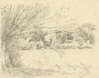 Frank Griffith (1889-1979) - Early 20th Century Graphite Drawing, Hitchcombe