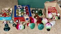Huge Lot of Rare Vintage Christmas Decorations Lights & Ornaments