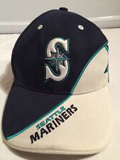 000cb6c986f2a Seattle Mariners Baseball Hat Cap Vintage One Size Embroidered Twin  Enterprise