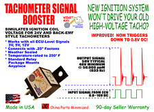 TACH TACHOMETER SIGNAL BOOSTER, 3~16V In -> 48~63V Out, compare to MSD 8920