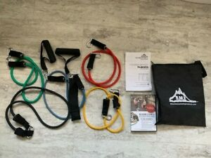 Resistance Bands- Black Mountain Products (Five Bands Included)