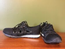 CA Collection Carrini Black Mesh Sneakers Women's Sz 6 Athletic Sports Gym Shoes