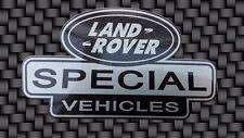 Q. tà 2 x veicoli speciali Decalcomania Sticker LAND ROVER DEFENDER DISCOVERY 90 110