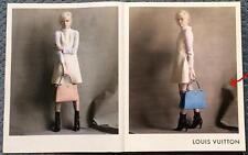 Publicité de Presse Maroquinerie Sac Louis VUITTON Original French Ad 2014