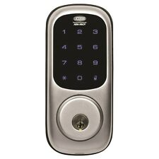 Lockwood Digital Keyless Deadbolt Silver Door Lock LEDDB/SCYL/SIL GST Receipt