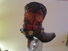 Cowboy Boot BEER TAP HANDLE NEW COLLECTIBLE USA ANTIQUE