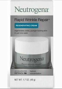 Neutrogena Rapid Wrinkle Repair Regenerating Cream 1.7 oz - New - Free Shipping