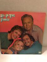 All In The Family TV Soundtrack Vinyl LP Record Album