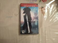 Crisis Core: Final Fantasy Vii (Sony Psp, 2008) case manual