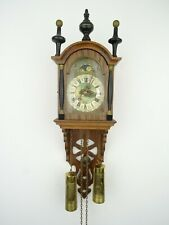 Friesian Warmink WUBA Dutch Wall Clock Vintage Antique 8 day (Zaanse Era)