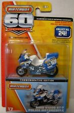 MATCHBOX 60th Anniversary, #17 BMW Police Motorcycle, Blue & White, Mag Whls.219