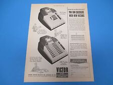 1951 Victor Adding Machine Co, 33 Years of Quality Recognition, Print Ad PA012