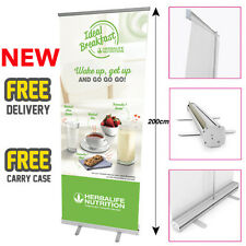 HERBALIFE Printed Roller Banner/Pop/Pull up Exhibition Stand - Breakfast 2