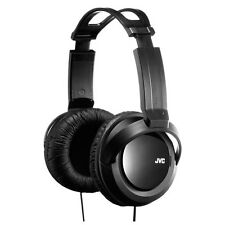 NEW GENUINE JVC ON EAR HIGH QUALITY FULL SIZE STEREO HEADPHONES - BLACK
