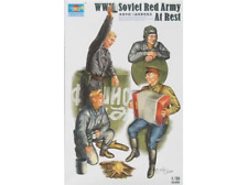 1/35 Trumpeter WWII Soviet Red Army At Rest Figure Set (4) $$ FREE SHIPPING !!