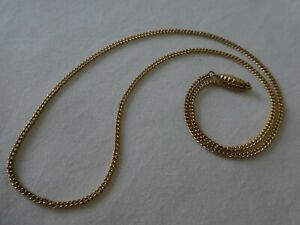 """Vintage 9CT Solid Gold Chain 17"""""""