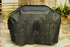 Black Duluxe Hooded Gas BBQ Cover 4 - 6 Burner