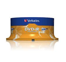 Verbatim DVD-r 16 x 25-Pack broche