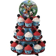 NEW WILTON MICKEY MOUSE ROADSTER TREAT/CUPCAKE STAND (1)