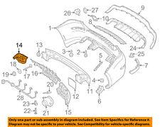 MERCEDES OEM 10-13 E350 Rear Bumper-Bumper Cover Nut 0039906450