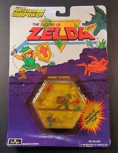 1988 Nintendo Power The Legend of Zelda Water Teaser still Sealed NES era RARE