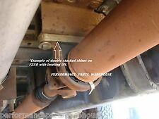 "FORD F250 F350 2-PIECE DRIVESHAFT ALIGNMENT SHIM KIT 2-8"" LIFT VIBRATION REPAIR"