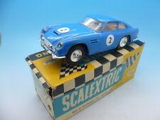 Scalextric E/3 c68 Aston Martin GT en raras azul, coche de menta y en caja