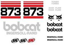 (ORIGINAL LOOK) BOBCAT 873 NEW FULL DECAL STICKER SET KIT AO